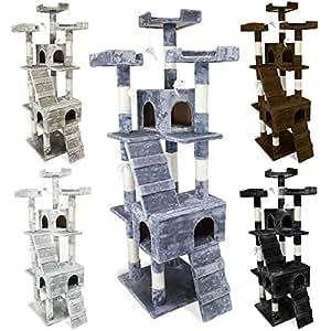 beauty pet arbre chat g ant 170 cm mod le caprice cinq coloris norme ce gris amazon. Black Bedroom Furniture Sets. Home Design Ideas