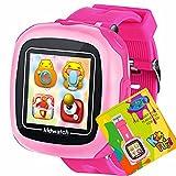 Game Kids Touchscreen Smart Watch per Bambini Ragazze Ragazzi con giochi per videogiochi Pedometro Timer Sveglia Giocattolo Smartwatch Orologio orologio Monitor di salute