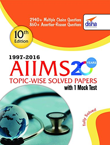 PDF] Download* AIIMS 20 years Topic-wise Solved Papers (1997