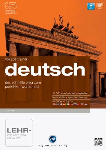 Interaktive Sprachreise 15: Vokabeltrainer Deutsch