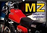 Motorrad-Legenden - MZ (Wandkalender 2019 DIN A3 quer): Das DDR-Motorrad MZ auf Kuba (Monatskalender, 14 Seiten ) (CALVENDO Mobilitaet)