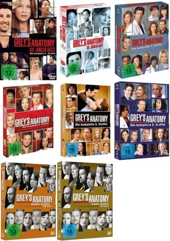 Staffel 1-7 (41 DVDs)