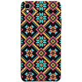 Printfidaa Ethnic Ornamental Seamless Pattern for Fabric Abstract Geometric Colorful Mosaic Print Designer Back Cover for LG X Power, K220DS K220
