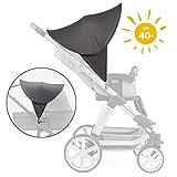 Zamboo Kinderwagen Sonnenschutz Universal - Baby Sonnenverdeck für Buggy &...