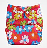 Bumberry Pocket Diaper PDS007 (Flowers o...