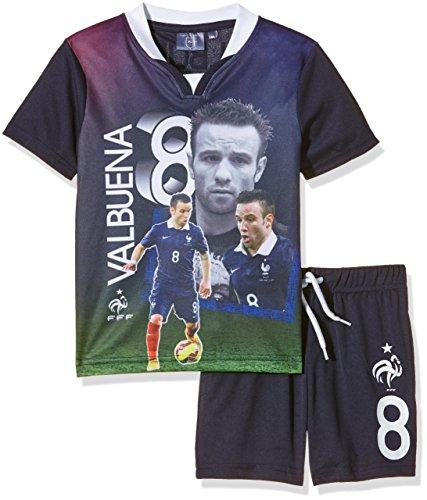 FFF EP1002 Valbuena conjunto de piezas de 2-Camiseta de manga corta para niño, color azul (talla 6 años 6Y):