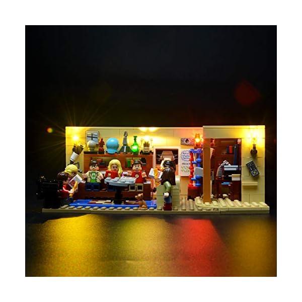 BRIKSMAX Kit di Illuminazione a LED per The Big Bang Theory, Compatibile con Il Modello Lego 21302 Mattoncini da… 5 spesavip