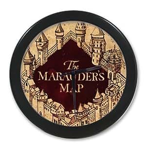 Harry Potter Decoratif Pendule Murale Quartz Rond Horloge Murale