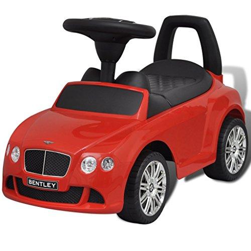 vidaxl-bentley-macchina-a-spinta-per-bambini-rossa