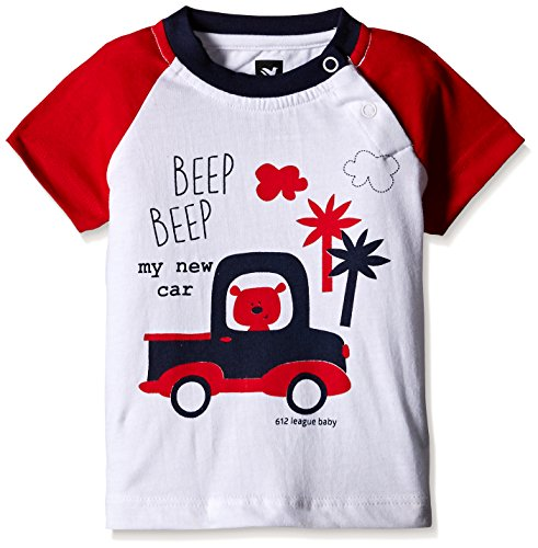 612 League Baby Boys' T-Shirt (ILS17I35022-3 - 6 Months-WHITE)