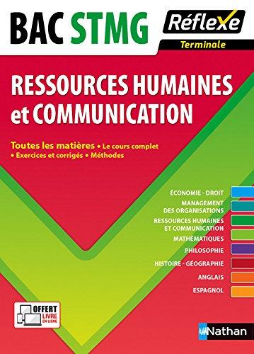 Toutes les matires Terminale STMG - Ressources humaines et Communication