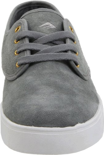 Emerica LACED, Scarpe da skateboard unisex adulto grigio (Grau (grey/gold/white))