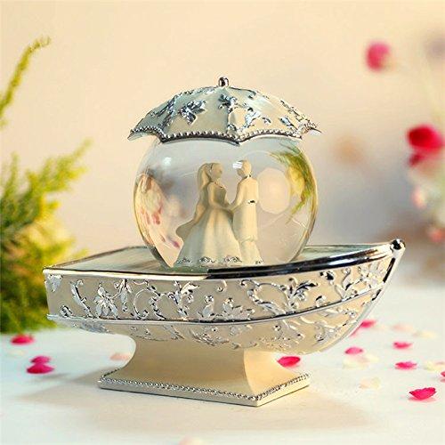 GDS Regali di matrimonio squisita sfera di cristallo di music box carillon