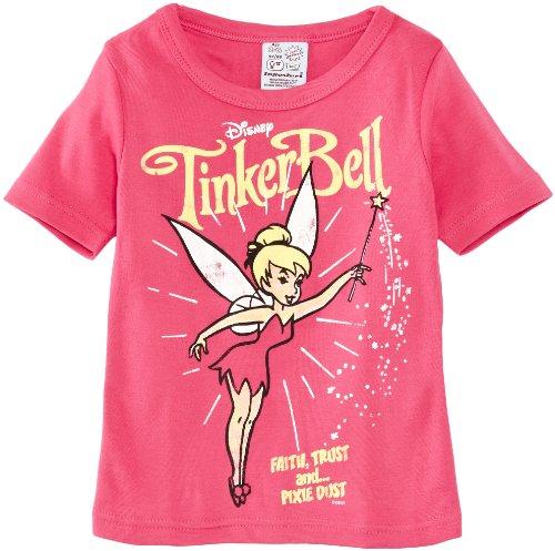 Logoshirt Mädchen T-Shirt, Kids Shirt Disney Tinkerbell-Pixie Dust, GR. 98 (Herstellergröße:104/116), (Tinkerbell Pixie Kostüme)