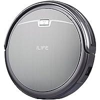 ILIFE A4 Robot Aspirador y Limpieza de Suelos,Slim, Gris Titanio
