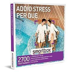 Idea Regalo - SMARTBOX - Cofanetto regalo coppia- idee regalo originale - Esperienza di relax per dire addio allo stress
