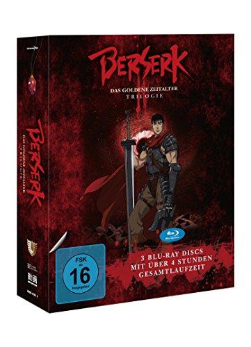 Berserk - Das goldene Zeitalter -Trilogie [Blu-ray] (Lose-blatt Film Der)