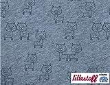 Lillestoff / Bio Jersey/AL PAKA/GOTS / 50x150 cm