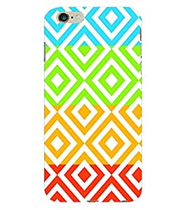 Fuson 3D Printed Pattern Designer Back Case Cover for Apple iPhone 6S Plus - D993