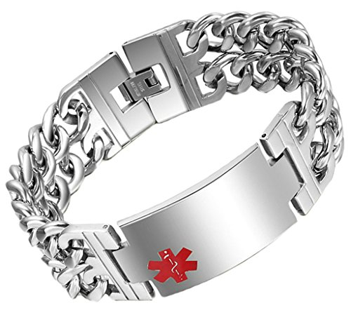 aooaz-free-engraving-bracelet-link-bracelets-for-mens-silver-medical-star-of-life-curb-retro-punk-go