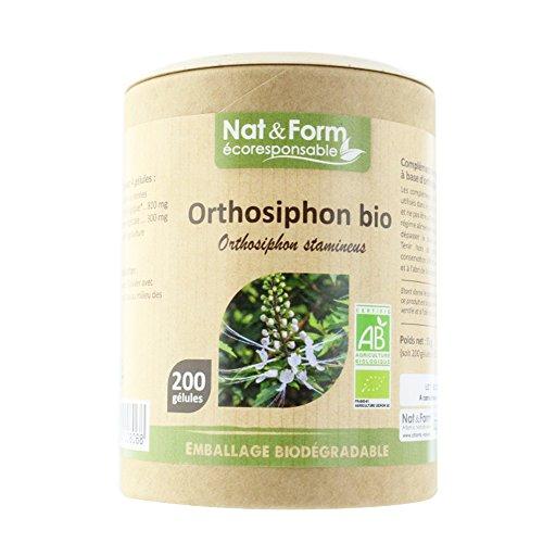 Nat&form Orthosiphon Bio 200 Gelules par