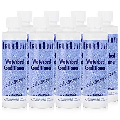 8x AguaNova Wasserbett Conditioner 250 ml, für Wasserbetten - Konditionierer - Weichmacher Conditioner