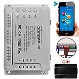 Sonoff 4CH Pro R2 WiFi Smart Switch wireless 4 Gang Inching / Self-Locking / Interlock WiFi RF Smart...