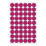 Merssavo Farbe 3 Abnehmbare Kreis Polka Dots Wandkunst Pvc-aufkleber Aufkleber Wohnzimmer Decor