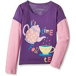 Cherokee Girls' T-Shirt (263896136_Purple_2 - 3 years)