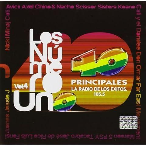Vol. 4-Los Numero Uno-40 Principales by Los Numero Uno-40 Principales (2012-08-03)
