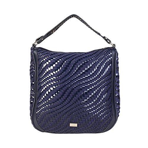 Cavalli Class - Sac porté épaule pour femme (C41PWCBU0022_080-BLUE) - Bleu