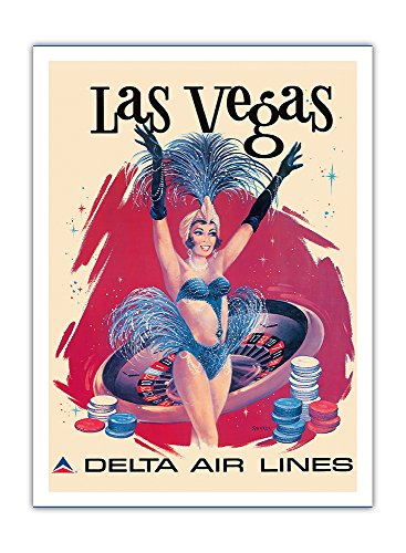 las-vegas-usa-vegas-show-girl-delta-air-lines-vintage-airline-travel-poster-by-sweney-c1960s-premium