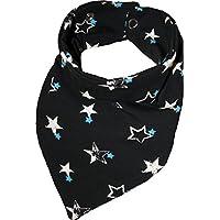 Zahntuch Sterne weiß blau, wasserdichtes Halstuch