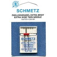 Schmetz universal aguja doble gama (paquetes de 1)–varios tamaños, 100 6.0mm Gap