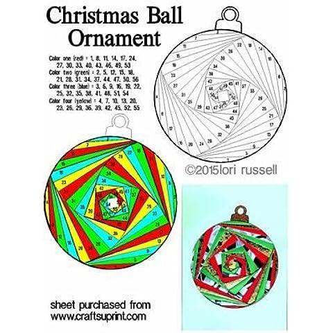 Ornamento de la Navidad por Lori Russell