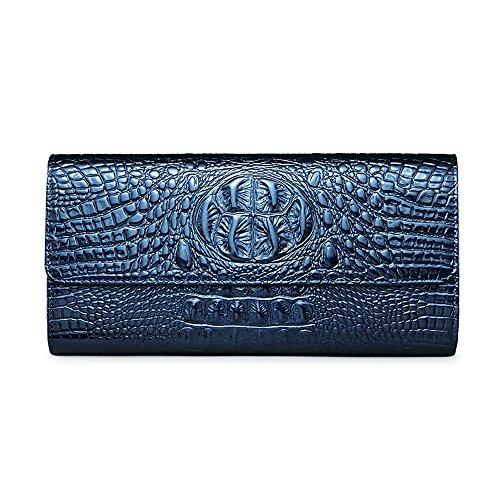 Borsa Da Donna Modello, Borsa Da Sera Da Donna In Pelle Spalla Femminile, Pacchetto Catena (colore: Blu) Blu