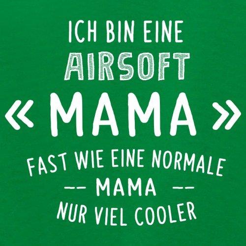 Ich bin eine Airsoft Mama - Damen T-Shirt - 14 Farben Grün