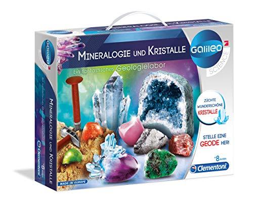 Clementoni 59005.6 - Galileo - Ausgrabungsset Mineralogie und Kristalle (Deutsch)
