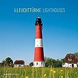 Leuchttürme 2017 - Lighthouses - Broschürenkalender (30 x 60 geöffnet) - Landschaftskalender - Wandplaner