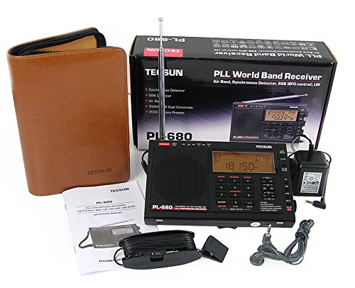 TECSUN pl-680 tragbar World Band Receiver mit am/fm/SSB Modi und VHF Airband