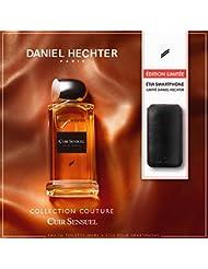 DANIEL HECHTER Coffret Parfum Cuir Sensuel 100 ML avec Etui pour Smartphone