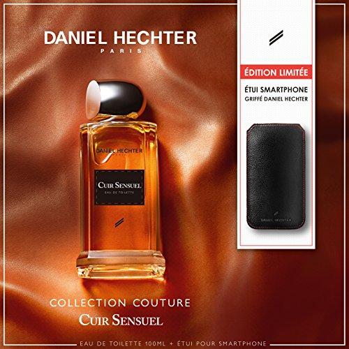 DANIEL HECHTER Coffret Parfum Cuir Sensuel 100 ML avec Etui pour Smartpho