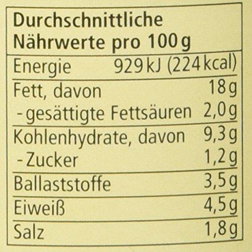 Alnatura Bio Pastete Senf-Rucola, vegan, 6er Pack (6 x 125 g) - 2