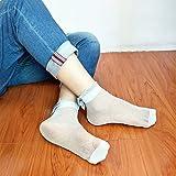 Aubess mit Schleife Knoten, Socken, Damen, Netzstoff-Spitze, Socken, 1Paar, SilverandWhite, 1 * 1 * 1cm