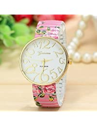 Amazon.es: Elastica Analógico Relojes de pulsera Mujer