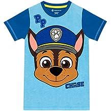 Paw Patrol La Patrulla Canina - Camiseta para niño Chase