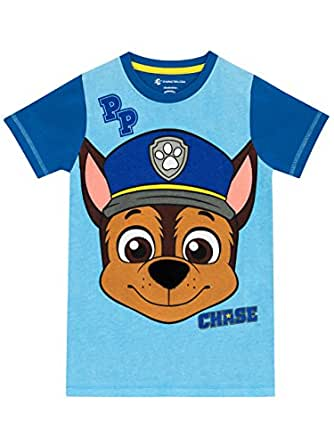 fa876555 Paw Patrol Boys Chase T-Shirt Age 6 To 7 Years: Amazon.co.uk: Clothing