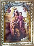 Rustiluz Azulejo Virgen del Carmen 45 x 60 cm