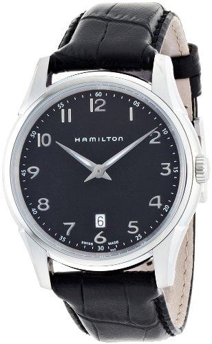 hamilton orologio analogico al quarzo donna con cinturino in pelle h38511733