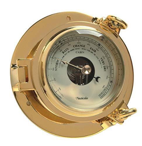 Nauticalia - Barómetro de latón 14 cm